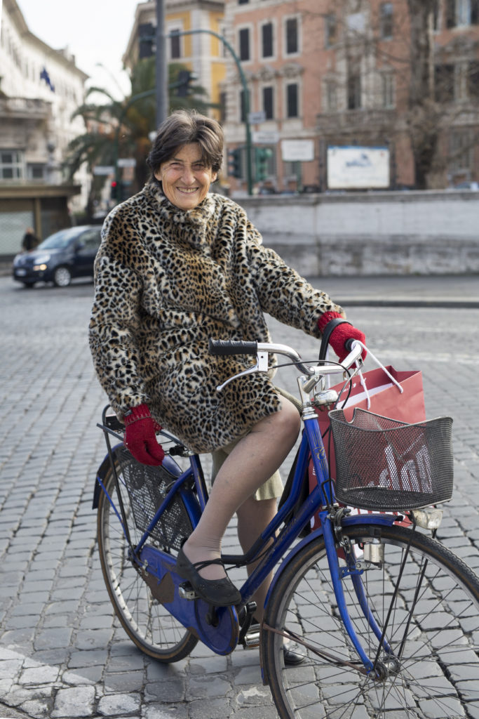 Riding in Leopard - Advanced Style