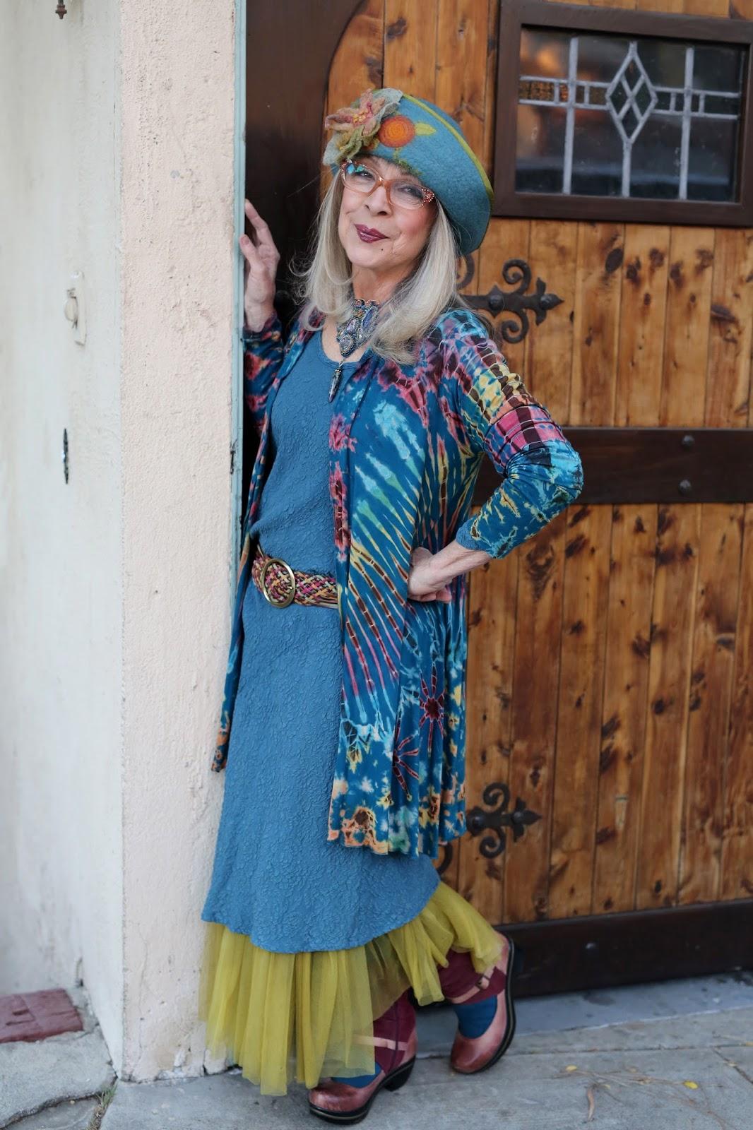 Bohemian Clothing For Older Women Kathleen Advanced Style