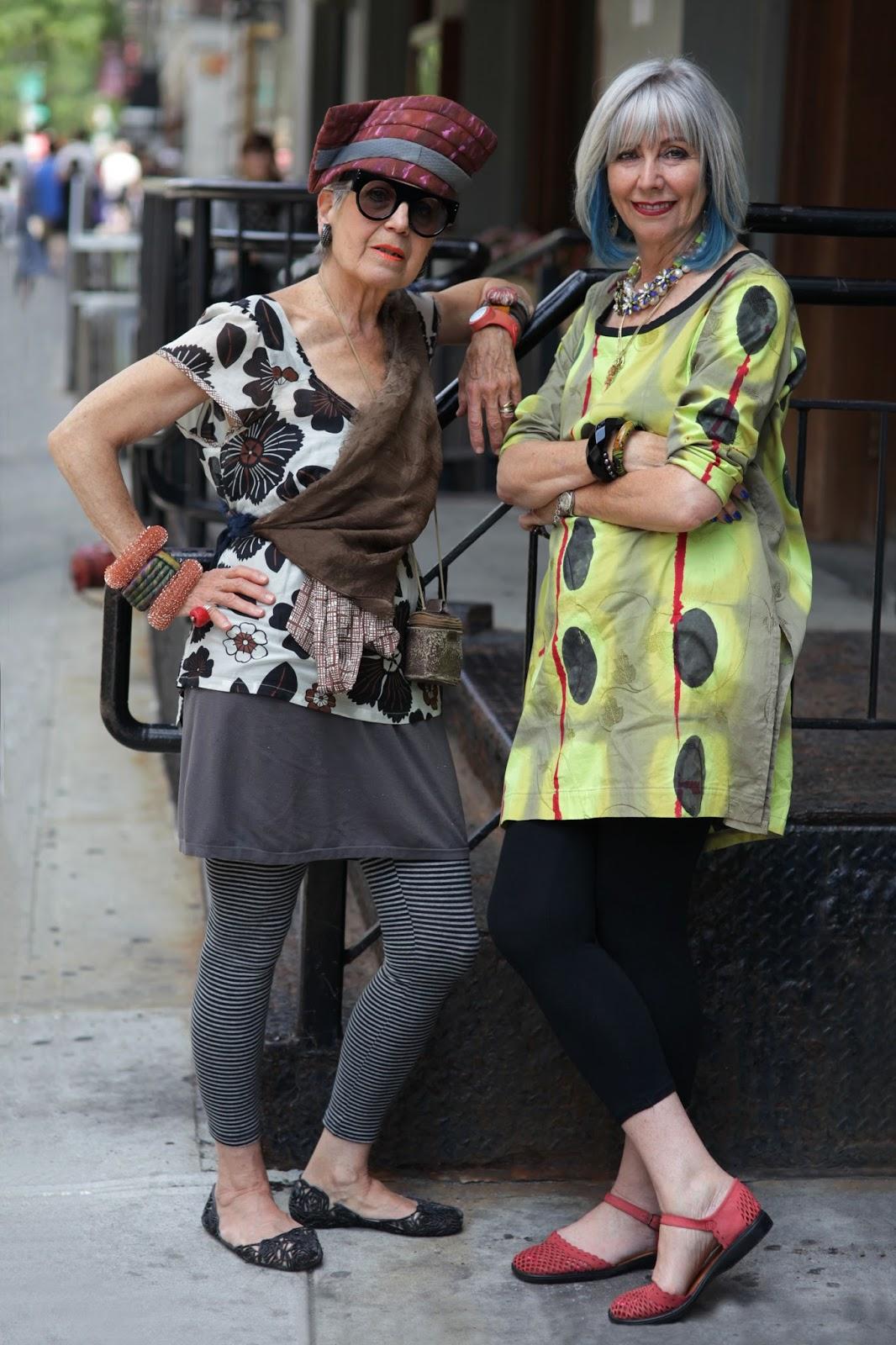 Dolores And Debra Advanced Style