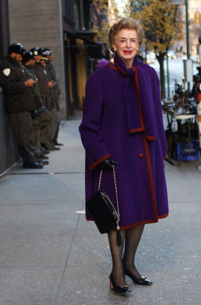 The Most Perfect Purple Winter Coat
