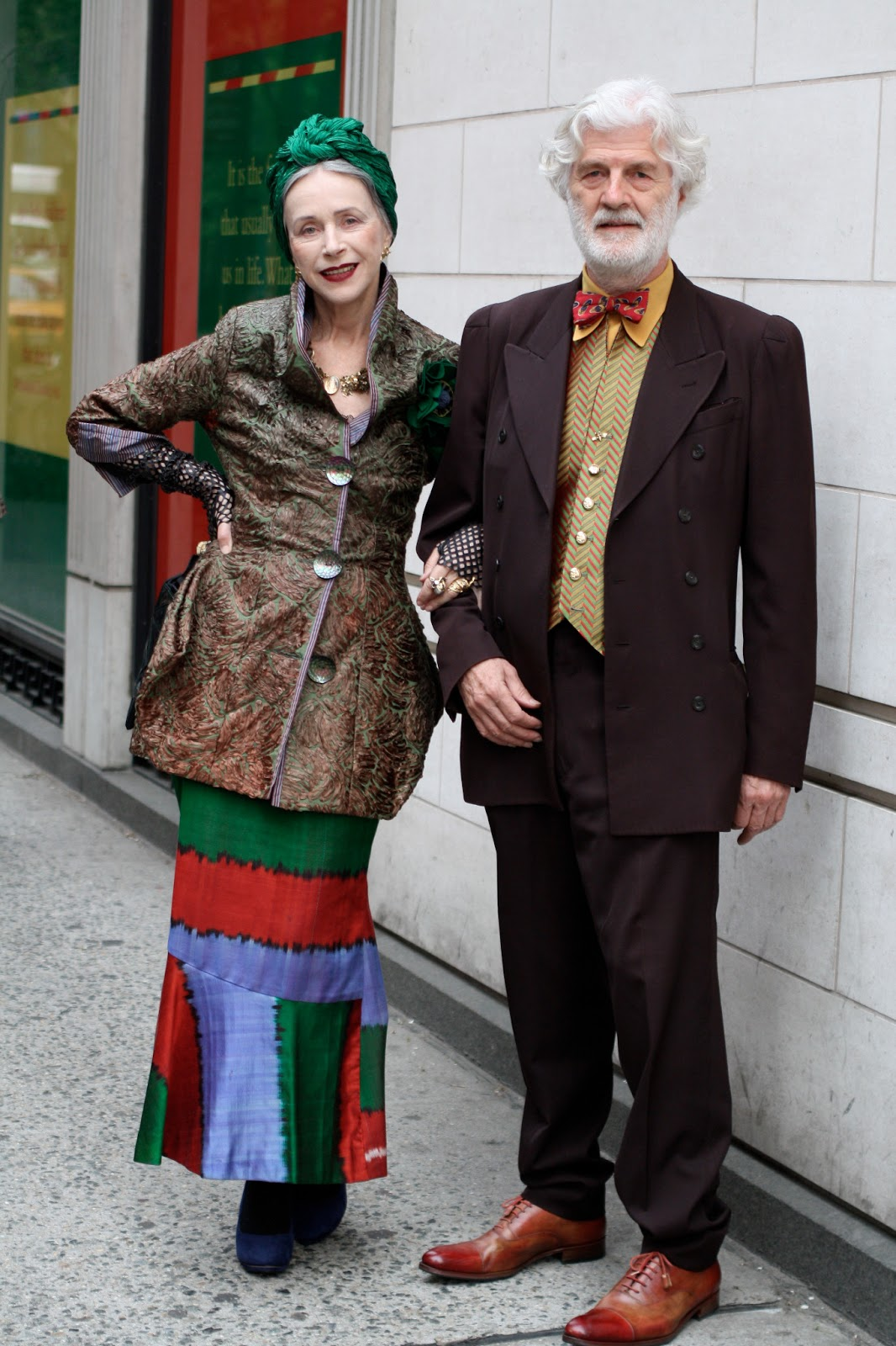 63656358b632 20 Of The Most Stylish Senior Couples Ever - Advanced Style