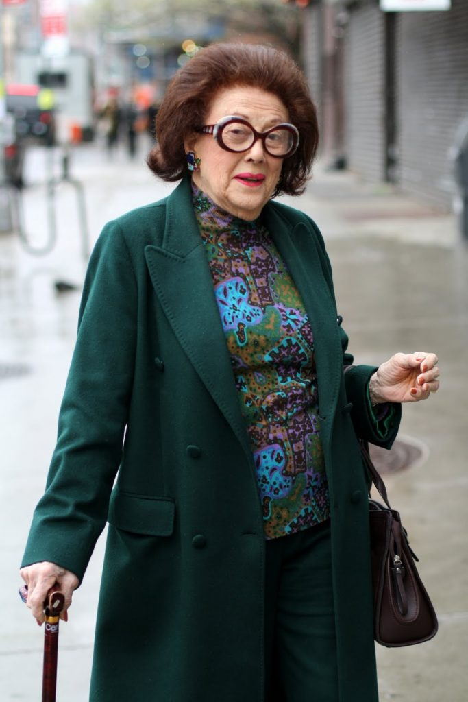 Lucy Jarvis Advanced Style