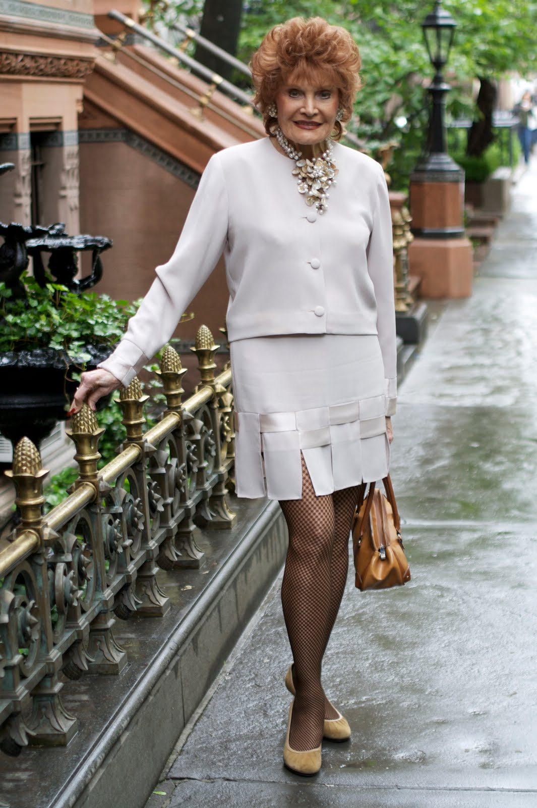90 Year Old Fashionista Edith Drake Advanced Style
