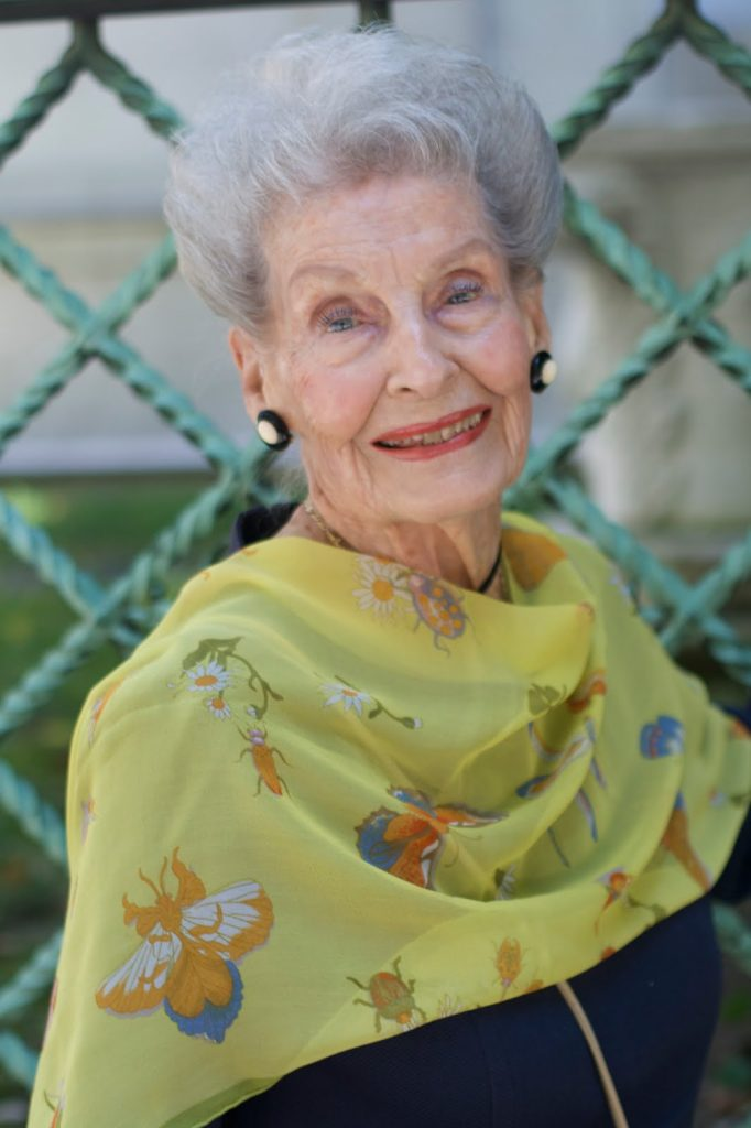 Advanced Style Profile Of A 100 Year Old Lady Advanced Style