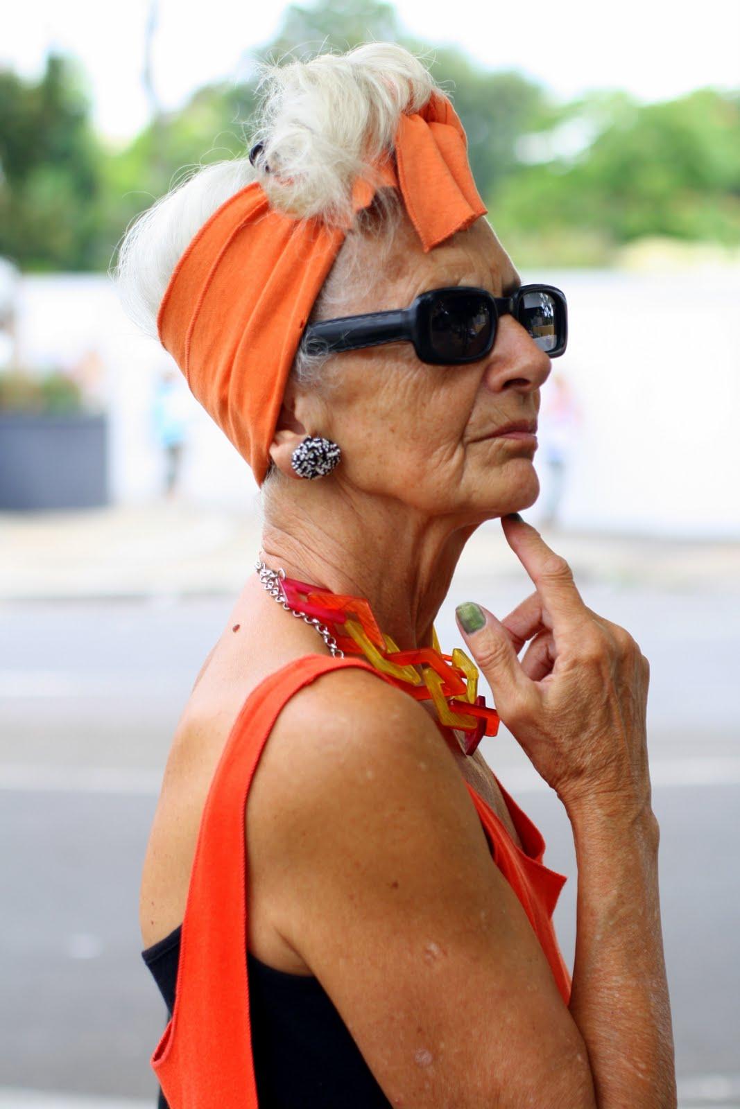 Znalezione obrazy dla zapytania Old people styles