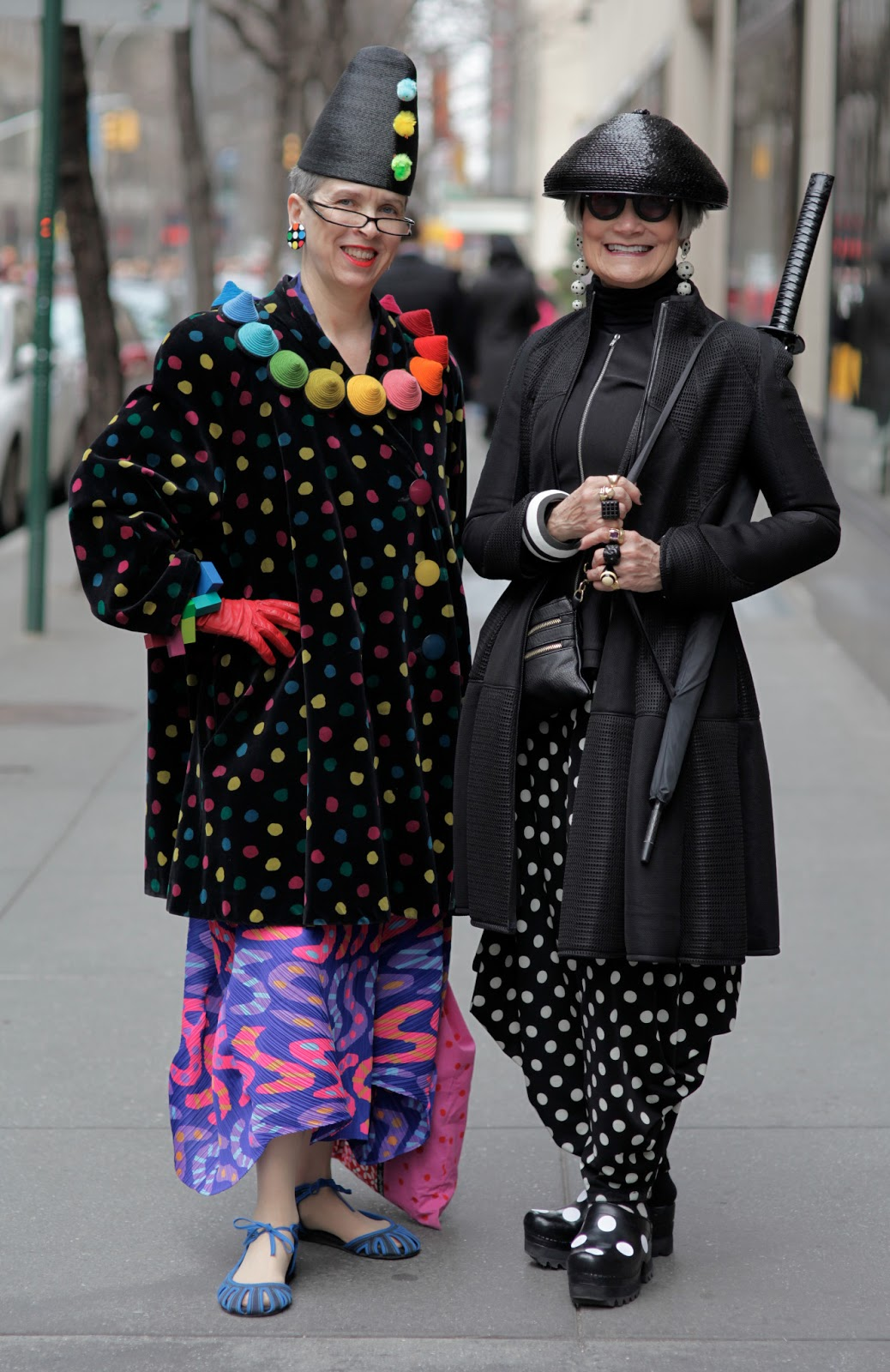 The Idiosyncratic Fashionistas Live on WABC-TV NEWS ...