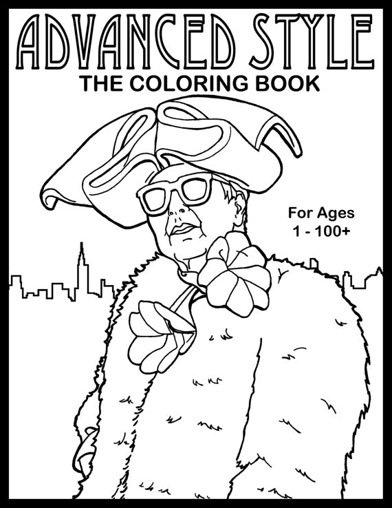The Advanced Style Coloring Book On Sale Now - Advanced Style